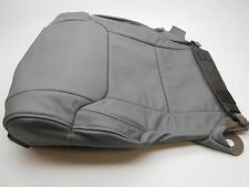 Genuine OEM Toyota Tundra Grey Right Lower Leather Seat Cover 2014-2015 Nice!!