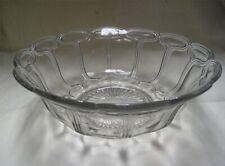 Vintage Lancaster Pogo Stick - Crown pattern EAPG Pressed Glass Salad Bowl