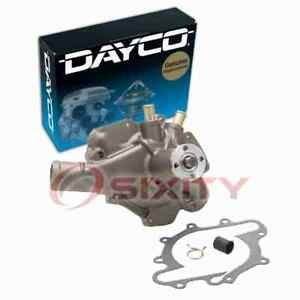Dayco Engine Water Pump for 1979-1984 Cadillac DeVille 5.7L V8 Coolant jx