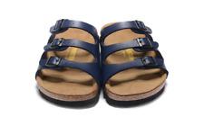 New Birkenstock Florida Summer Sandals Color: Blue Birko Flor EUR39