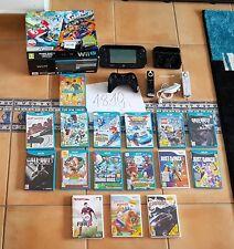 █▬█☼▀█▀ Nintendo Wii U premium pack 32gb, MEGA PACK, con 20 juegos Originales