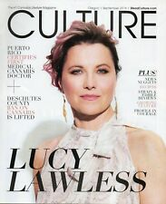 Culture Cannabis Lifestyle Magazine September 2017 Lucy Lawless