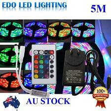 Waterproof 300 LEDs RGB 5m 3528 SMD LED Strip Light 12v IR Controller Driver