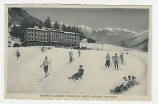 CARTOLINA 1919 GRANDE ALBERGO PONTE DI LEGNO (STAZIONE INVERNALE) RIF. 15213