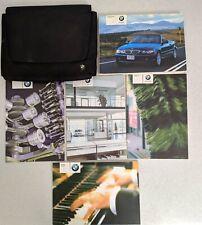 BMW 3 SERIES E46 CONVERTIBLE HANDBOOK MANUAL WALLET 2003-2007 PACK K-566