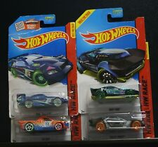 4 NEW HOT WHEELS HW RACE BULLET PROOF DRIFT ROD FIG RIG TIME TRACKER