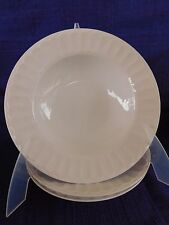 Martha Stewart MTW21 White Embossed Rim - SOUP BOWL (s) *have more items*