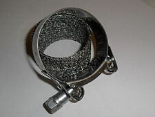 Seal 50mm x 45mm and 35mm long with stainless clamp for Silencer Exhaust  Pipe