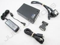 Lenovo THINKPAD X390 X395 USB 3.0 Docking Station Con / Doppio DVI Display & PSU