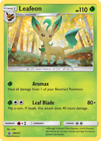 Pokemon Leafeon  SM237 PROMO HOLO | 1 CARD FREE PROTECTOR