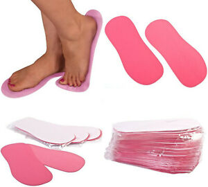 Spray Tan Sponge Foam Pink Sticky Feet Tanning Foot 5 10 25 50 75 100 200 Prs