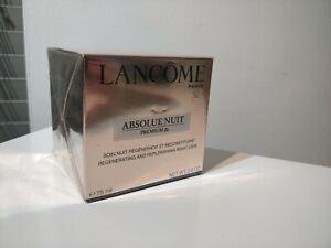Lancome Absolue Nuit premium bx 75ml.regenerating replenishing night care.Sealed