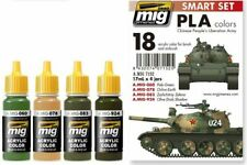 AMMO by Mig 7152 Acrylic Smart Set: PLA (Chinese Peoples Liberation Army) Colors
