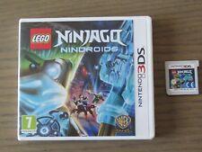 JEU NINTENDO 3DS  LEGO NINJAGO NINDROIDS
