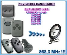 D302-868, D304-868 868,3Mhz Kompatibel Handsender, Klone (NOT MADE BY MARANTEC)