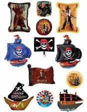 Pirate Helium Balloons Party Ware Decoration Pirates Of The Caribbean Ship Flag