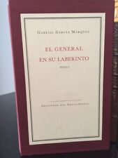EL GENERAL EN SU LABERINTO * SIGNED BY GABRIEL GARCIA MARQUEZ * #52