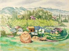 Rolande VERGÉ-SARRAT Languedoc Roussillon Midi  Vue de TOURNAY Hautes Pyrénées
