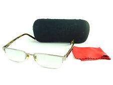 Authentic CHANEL Half Rim Eyeglasses Frame 2099T C.324 53 17 135 + Case