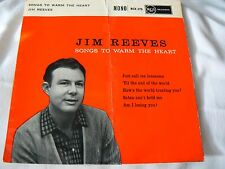 jim reeves       songs to warm the heart (4 track ep) EX-