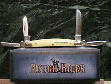 RR1126 Rough Rider Small Congress Yellow handle Pocket Knife