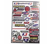 Various Decals Stickers MX Motocross Race Car Helmet 18x12 Spy Optic NGK D.I.D.