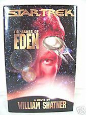 THE ASHES OF EDEN shatner STAR TREK 1st/1st