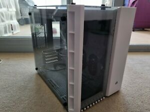 Corsair Crystal 280X  MATX Gaming Case - White