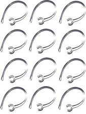 12 Clear Ear Hook for Samsung HM1100/HM1100/HM1200/HM3500+1 Bonus Black Earhook