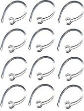 12 Clear Ear Hook for Samsung HM1100/HM1100/HM1200/HM3500+1 Bonus Black Earhook