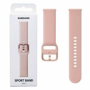 Samsung Galaxy Watch Active Sport Band ET-SFR82(20 mm) strap pink gold Original