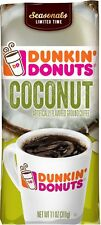 Dunkin' Donuts Coconut Flavored Ground Coffee 11 oz