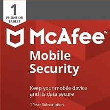 McAfee 2018 tablet Android & Mobile Internet Security Antivirus 1 anno di download