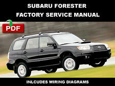 SUBARU FORESTER 2003 2004 2005 2006 2007 2008 FACTORY SERVICE REPAIR FSM MANUAL