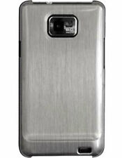 Coque QDOS Titanium aspect métal brossé pour Samsung Galaxy S2 i9100