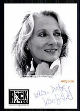 Kaatje Dierks We will Rock You Autogrammkarte Original Signiert ## BC 10470