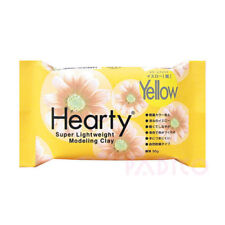 Hearty CRAFTERS Super Lightweight AIR DRYING MODEL CLAY Yellow 50g 0390036HRTY
