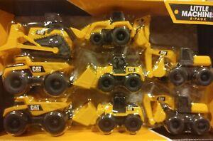 ✅CAT 8 Equipment Toy Backhoe Bull Dozer Excavator Wheel Loader Dump Truck