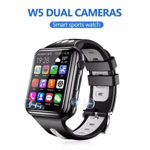 W5 4G Kids Smart phone Watch waterproof GPS+WiFi position dual cameras free call