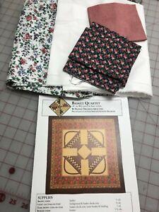 Spring Baskets Quilt Kit:  Kansas Troubles pattern, Cranston & RJR fabrics