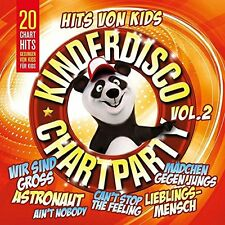 Kinderdisco Chartparty Vol.2 - CD  Neu & Eingeschweißt!