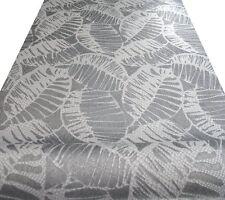 Vliestapete silber altweiß Ornament Blätter floral von Erismann Posten 5731-29