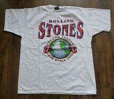 Vintage ROLLING STONES - 1994 Voodoo Lounge World Tour T-shirt XL