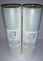 Two 11x50 Rolls Food Magic Seal 4 Mil for Vacuum Sealer Food Storage Bags