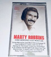 Marty Robbins Some Memories Jut Won't Die Country Cassette 1R