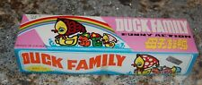 Vintage 1990s Chinese Metal Toy Wind-Up Duck Family  NOS