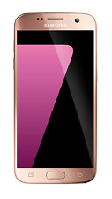 New Other Sprint Ting Samsung Galaxy S7 SM-G930P 32GB Pink SmartPhone Android