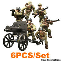 WW2 WWII Military Army Soldiers Fit Lego MiniFigures Mega Construx Call of Duty