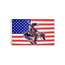 End of the Trail Flag 3x5ft Poly USA004