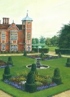 5x7 PRINT OF PAINTING RYTA LANDSCAPE CASTLE ENGLISH GARDEN UK IMPRESSIONISM ART